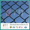 9つのゲージのPVCによって塗られる電流を通されたプラスチックチェーン・リンクの塀の価格