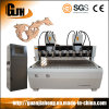 Cabeças multi e multi-eixos, máquina de roteador CNC de madeira