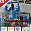Jzc-5 filtración del petróleo de lubricante de la basura del negro de la tonelada/día, destilación inútil del aceite de motor del negro