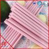 Pailles de papier de papier d'Eco de pailles à boire de mariage rose