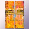 100%のアートワークの製造業者(KLA2-0037)からの手塗りの現代抽象的な油絵