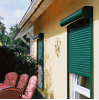 Cortinas do poliéster & do vertical para Windows