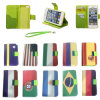 Pilha Phone Caso para o país Flag Cell Phone Accessories de Samsung/iPhone/Blackberry New Style