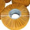 Cepillo amarillo material del barrendero de camino de la mezcla de los PP (YY-024)