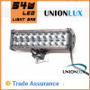 9 pulgadas 54W LED Light Bar Offroad