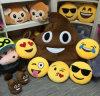 De in het groot Hoofdkussens van Emoji van het Stuk speelgoed van de Pluche van de Stijl van 2017 Hete Populaire