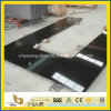 High Polished Shanxi Black Granite Laminate Countertop for Kitchen