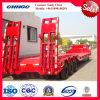 3つの車軸Low Flatbed/40t Low Bed Semi Truck Trailer