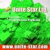 Día Luz Fluorescente pigmento verde para impresión textil color de la pasta