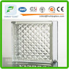 Bloco de vidro/tijolo de vidro/tijolo/ombro de canto/bloco de vidro desobstruído