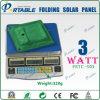Pannello solare multifunzionale del caricatore 3W per il telefono mobile (PETC-S03)