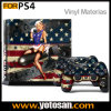 Haut Sticker für PS4 System Playstation 4 Console + Controller Decals