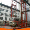 China personalizou o elevador elétrico hidráulico do carro de trilho do guia para a venda