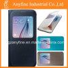 Caja del cuero del teléfono móvil para la galaxia S6 de Samsung