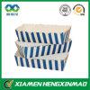 Caja popular del acondicionamiento de los alimentos de la impresión de la raya azul