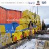 Base de viagem do transporte da construção da soldadura da fabricação da construção de aço