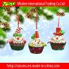 Decoração de suspensão do bolo interno do ornamento da árvore de Natal