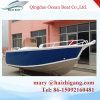 Bateau 16FT en aluminium de bateau de pêche de console de côté de coque de la Chine 5m V