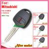 Verre Sleutel voor Mitsubishi Outlander met ID46 433MHz 2 Knopen