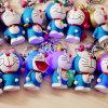 간단한 선물 LED 만화 Doraemon Keychain