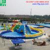 Equipo comercial del parque de la piscina