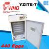 Incubadora industrial automática do ovo de Hhd para os ovos de choque Yzite-7