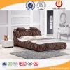 Кровать античной ткани деревянной рамки 2016 мягкая с дешевым ценой (UL-FT801B)