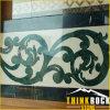 Marmeren Waterjet van de Grens van het Patroon Medaillon voor de Tegel van de Bevloering