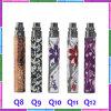 Elektronische Batterie-buntes Drucken der Zigaretten-EGO-Q