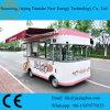 Carro cor-de-rosa do alimento do Vending da cor para vender petiscos/bolos/biscoito