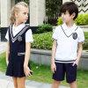 Uniforme scolaire de l'hiver avec le gilet tricoté par blanc T bon marché pour des filles et des garçons