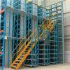選択的な倉庫の棚に置く多層中二階床ラック