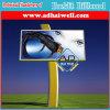 visualización al aire libre de la cartelera de rectángulo ligero de los 4mx3m de la tarjeta del vinilo auto-adhesivo mega del panel