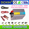 12VDC aan 220VAC Pure Sine Wave Inverter Solar Inverter voor LED Lights