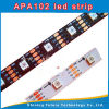 RGB LED Pixel Strip 5050 60LED Apa102 - White와 Black PCB, 5m/Roll
