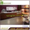 F10160-voedsel Tellers die in Restaurant worden gebruikt