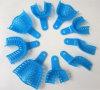 Bandejas de impressão dental de venda a quente com cor azul