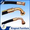 El alambre de acero espiral de goma de alta temperatura de la manguera flexible reforzó la pulgada del 1/2 - alta manguera de la presión