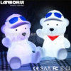 Outdoor Plastic LED Pet Bear Decoration Spotlight