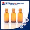 frasco de vidro de óleo 15ml essencial com o tampão do conta-gotas da pipeta