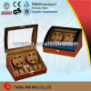 10 Watches Ww-8078za를 위한 Fancy 큰 얼룩말 Wooden Watch Winder Box