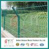 Покрынная PVC сваренная двойная панель ячеистой сети /Twin проволочной изгороди для Residental
