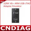 Emulador del adaptador del USB-Jtag del brazo de Jlink V8+ de la J-Conexión