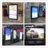 Caja ligera del tamaño de la publicidad al aire libre Muppi del panel solar del SGS del OEM