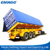 Factory direto Supply 3-Axle Tipping Tipper Dump Semi Trailer