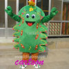Xmas.のための移動可能なChristmas Tree Fur Mascot Costume
