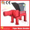Trituradora de residuos de papel industrial de la alta capacidad