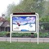 Multi-Cartel de la parada de autobús que mueve de un tirón la exhibición del anuncio de Lightbox