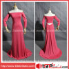 hors de la noce Evening Gown Mother de The Shoulder Red Chiffon de The Bride Dress (AS3555)
