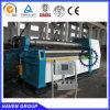 Machine de roulement hydraulique de plaque de quatre rouleaux TW12NC-10X4000